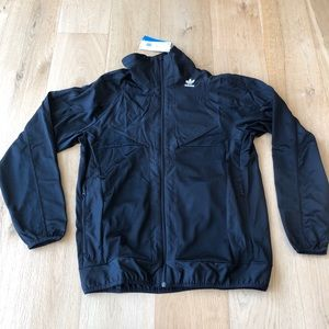Adidas PT3 TT Zip Front Black Track Top Jacket M